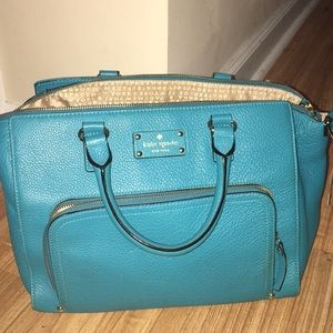 Kate spade turquoise purse